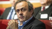 epa04864725 (FILE) A file picture dated 15 December 2014 of UEFA President Michel Platini during the UEFA Champions League 2014/15 round of 16 draw at the UEFA Headquarters in Nyon, Switzerland. Michel Platini on 29 July 2015 confirmed his intention to