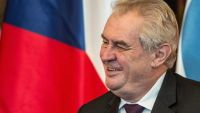 epa05078847 (FILE) A picture dated 02 December 2015 shows Czech President Milos Zeman at the Prague Castle in Prague, Czech Republic. Athens on 22 December 2015 ordered its ambassador in Prague to return to Greece in a dispute over alleged comments made