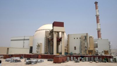 epa02995596 (FILE) A file picture dated 21 August 2010 shows a general view of the Iranian nuclear power plant in Bushehr, southern Iran. Media reports on 07 November 2011 state that a military strike against Iran to solve the Iranian nuclear problem