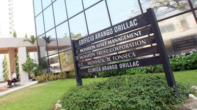 epaselect epa05242948 Photo shows the building where the office of Panamanian law firm Mossack Fonseca is located in Panama City, Panama, 03 April 2016. 11 million documents from Mossack Fonseca database were leaked allegedly exposing high profile tax