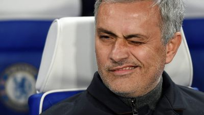 epa05322223 (FILE) A file photo dated 09 December 2015 shows Chelsea manager Jose Mourinho during the UEFA Champions League group G soccer match between Chelsea and Porto, at Stamford Bridge in London, Britain. British media reports on 21 May 2016 state
