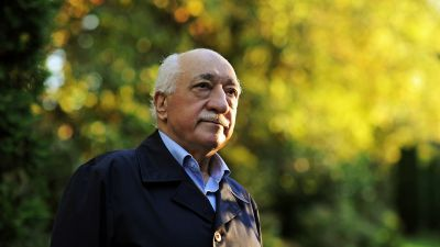 "FILE - In this Sept. 24, 2013 file photo, Turkish Islamic preacher Fethullah Gulen is pictured at his residence in Saylorsburg, Pa. A lawyer for the Turkish government, Robert Amsterdam, said that ""there are indications of direct involvement"" in"