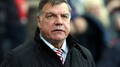 FILE - In this Saturday, Nov. 7, 2015 file photo, Sunderland's manager Sam Allardyce awaits the start of their English Premier League soccer match between Sunderland and Southampton at the Stadium of Light, Sunderland, England. Allardyce has spoken