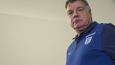 epa05557978 (FILE) England soccer manager Sam Allardyce during a press conference after unveiling the England squad, at St Georges Park, Burton-upon-Trent, Staffordshire, Britain, 29 August 2016. The England manager Allardyce is facing an investigation by