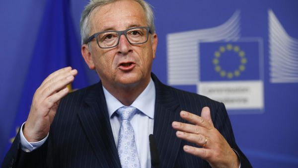epa04826211 European Commission President Jean-Claude Juncker during a news conference at the EU Commission headquarters in Brussels, Belgium, 01 July 2015. Officials from Greece and the European Union confirm that the Greek government sent a new proposal