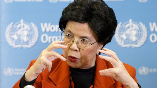 epa05138853 China's Margaret Chan, General Director of the World Health Organization, WHO, informs to the media during a press conference after the first meeting of the International Health Regulations (IHR) Emergency Committee concerning Zika virus,