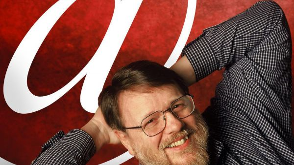 "An undated photo provided by Raytheon BBN Technologies shows Raymond Tomlinson. Tomlinson, the inventor of modern email and selector of the ""@"" symbol, has died. Raytheon Co., his employer, on Sunday, March 6, 2016, confirmed his death; the"