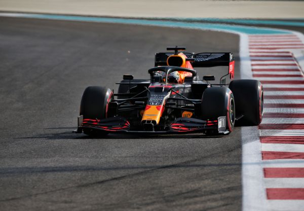 epa08878746 A handout photo made available by the FIA of Dutch driver Max Verstappen of Red Bull Racing in action during the third practice session of the Formula One Grand Prix of Abu Dhabi at Yas Marina Circuit in Abu Dhabi, United Arab Emirates, 12 December 2020. The Formula One Grand Prix of Abu Dhabi will take place on 13 December 2020.  EPA-EFE/FIA/F1 HANDOUT  HANDOUT EDITORIAL USE ONLY/NO SALES